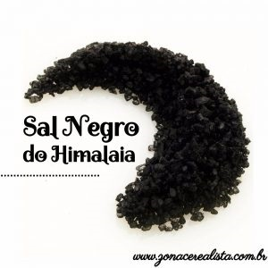SAL NEGRO DO HIMALAIA