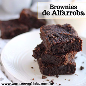 Brownies de Alfarroba