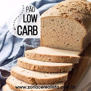 Pão Low Carb com Psyllium