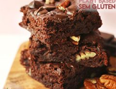 Brownie Plant Based Sem Glúten