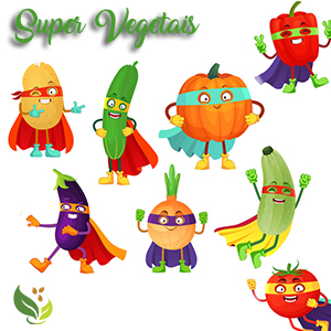 Super Vegetais